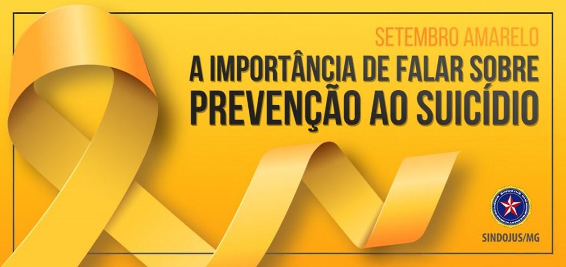 SETEMBRO AMARELO: A IMPORTÂNCIA DE FALAR SOBRE PREVENÇÃO AO SUICÍDIO